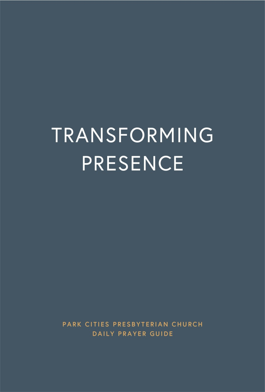 PCPC Daily Prayer Guide | Transforming Presence